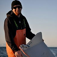 Dr. Rob Campbell,  PWSSC biological oceanographer